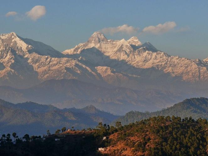 003 Nanda Devi 7816m from Kalmatia Sangam