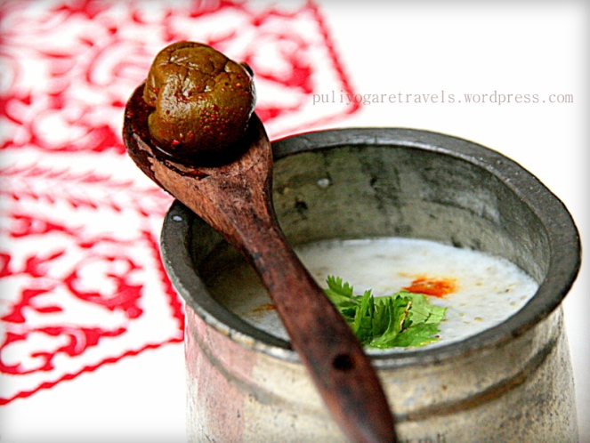 Kambu / Pearl millet Koozh (porridge)