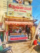 Jilebi Krishna Iyer mittai kadai on Santhai Road, Dindigul — in Dindigul, Tamil Nadu.