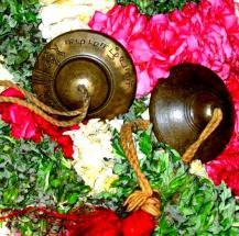 Cymbals used for the 'Araiyar Sevai' performance. Photo courtesy The Hindu S.Prabhu