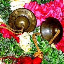 Cymbals used for the 'Araiyar Sevai' performance. Photo courtesy The Hindu S.Prabhu