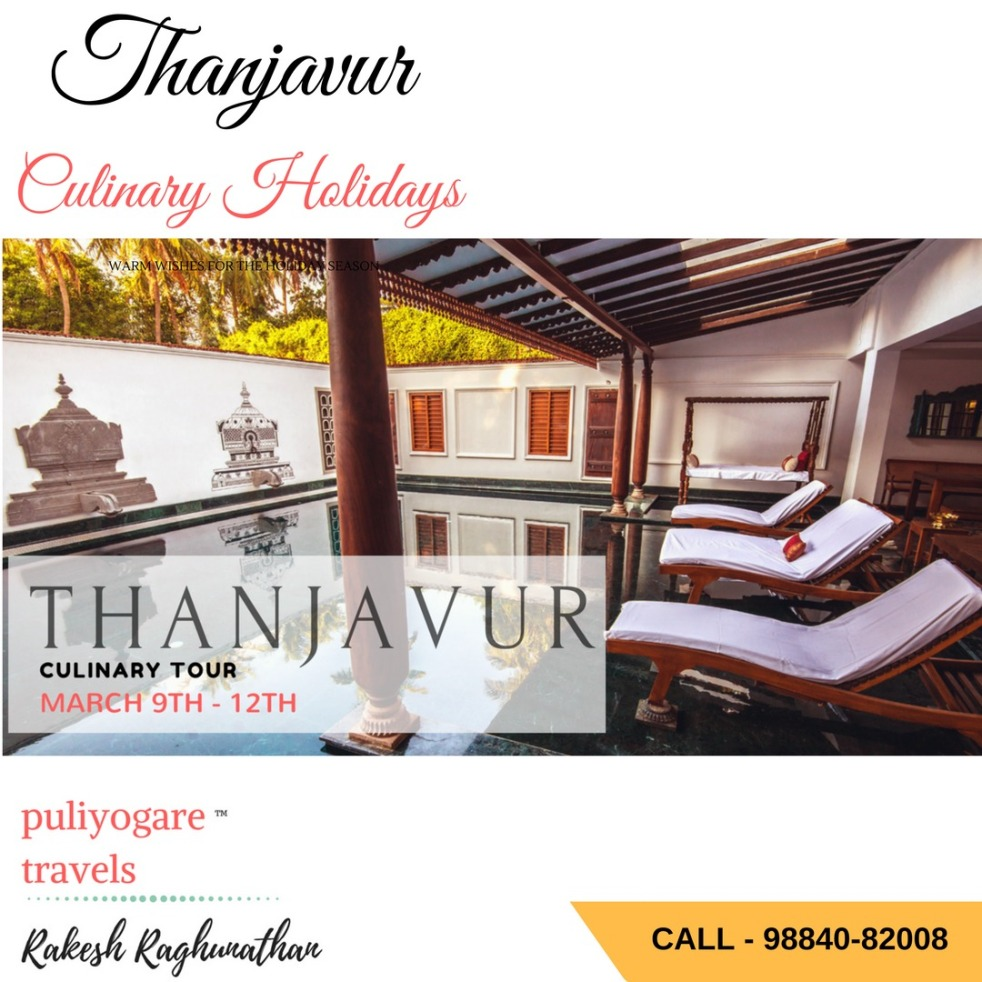 Culinary Tour of Thanjavur
