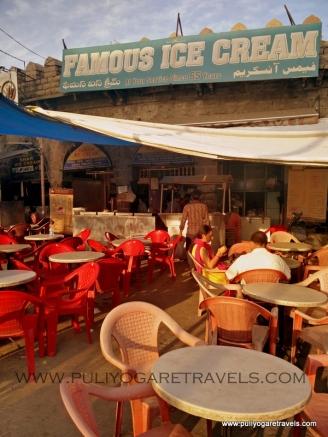 Famous Ice Creams in Moazam Jahi Market