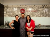 With Lynette who runs Palate Sensations cookery school and Brenda, Executive Chef
