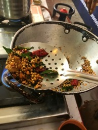 Roasting rasam powder for Ilaneer Rasam