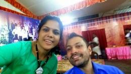 With good friend Jeyashri Suresh of Jeyashri's Kitchen