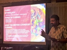 Presentation of the Madras Curry and Mulligatawny