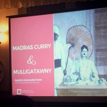 Presentation of the Madras Curry and Mulligatawny