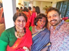 With Sher Jon and Shylaja Chetlur thats how we woot in style!