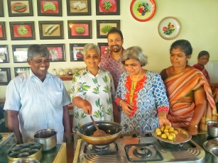 Special cookery classes by the cooks of The Bangala