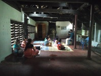 Carnatic music classes in the ancestral home
