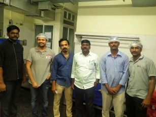 The backend - Chef Muthukumar Loganathan Chef. Deepesh Attupurath who worked on this project with me